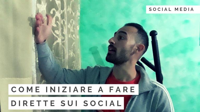 Come iniziare a fare dirette sui social