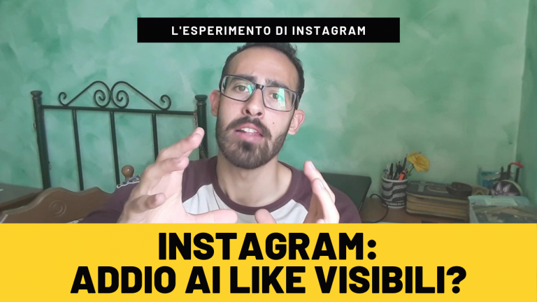 Addio ai Like su Instagram?